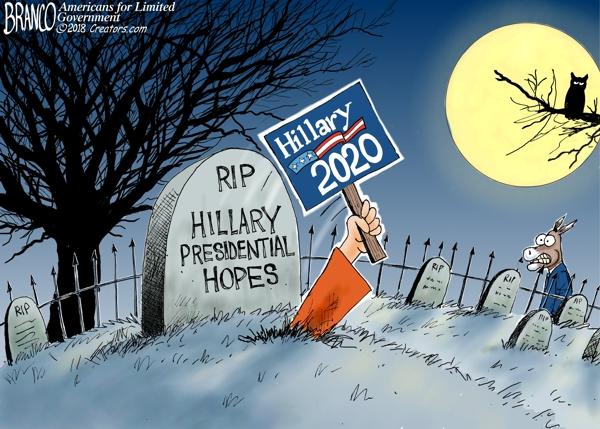 Creepy Hillary 2020