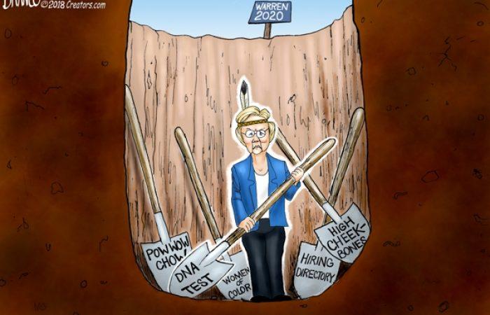 A.F. Branco Cartoon – Shovels Ready