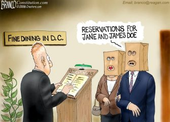 A.F. Branco Cartoon – Reservations