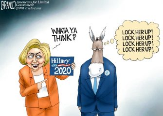 A.F. Branco Cartoon – Hindsight 2020