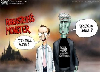 A. F. Branco Cartoon – Rosensteins Monster