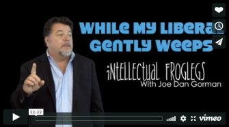 Joe Dan Gorman – While My Liberal Gently Weeps