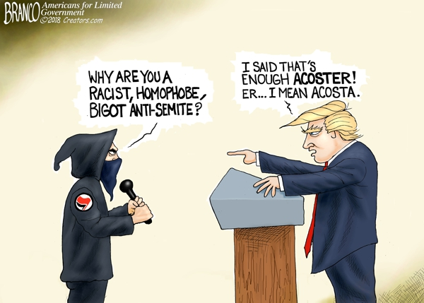 Jim Acosta of CNN Divisive