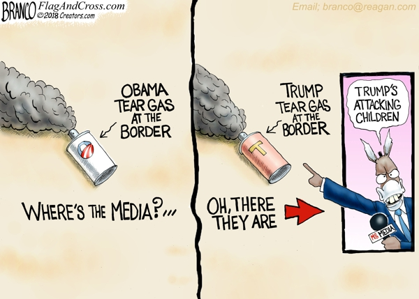 Tear Gas at the Border