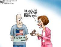 A.F. Branco Cartoon –  High Tax Nancy