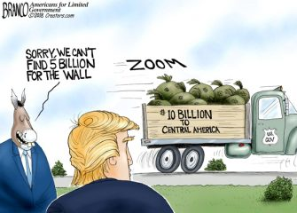 A.F. Branco Cartoon – Border Money