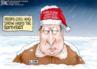A.F. Branco Cartoon – Frozen