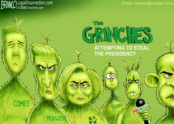 Washington DC Grinch