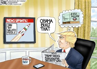 A.F. Branco Cartoon – Going Ballistic