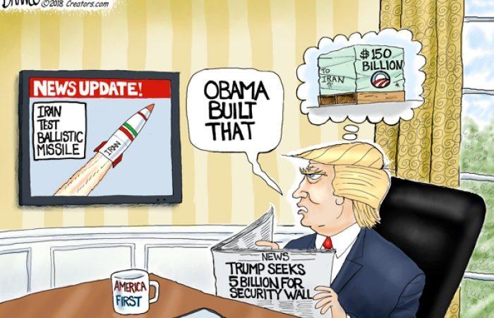 A.F. Branco Cartoon – Going Ballistic
