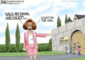 A.F. Branco Cartoon – Walled Off