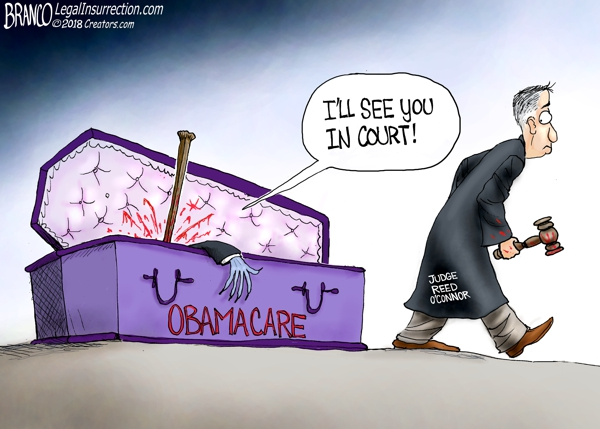 Federal Strikes Down Obamacare