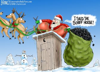 A. F. Branco Cartoon – Christmas In DC