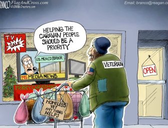 A.F. Branco Cartoon – Charity Starts At Home