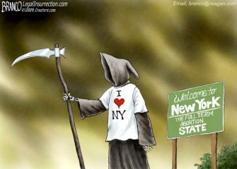 A.F. Branco Cartoon – New York State of Mind