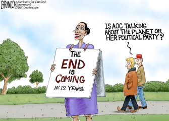 A.F. Branco Cartoon – Omega Girl