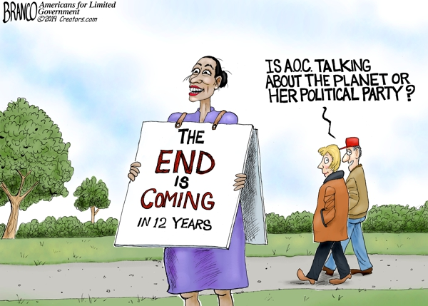 AOC Says World Will End in 12 Years
