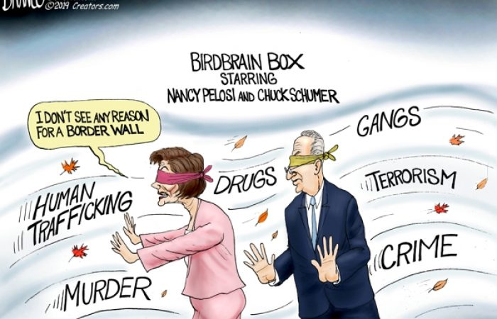 A.F. Branco Cartoon – Blind Ambition