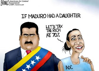 A.F. Branco Cartoon – Maduro's Daughter