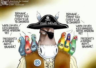 A.F. Branco Cartoon – Flocking Together