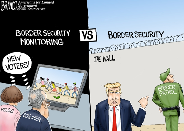 Border Monitoring vs Security