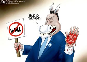 A.F. Branco Cartoon – Collateral Damage