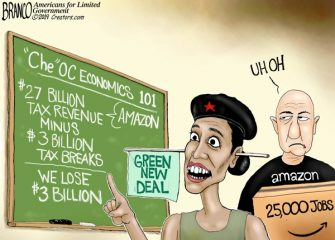 A.F. Branco  Cartoon – In the Red
