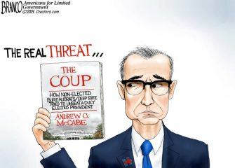 A.F. Branco Cartoon – The Real Threat