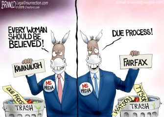 A.F. Branco Cartoon – Democrat Privilege