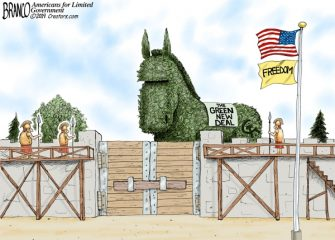 A.F. Branco Cartoon – Green is the New Red