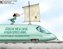 A.F. Branco Cartoon – Green Means Stop
