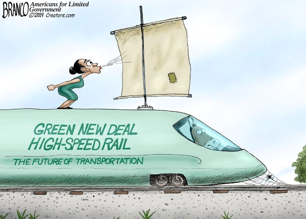 Green High Speed Rail