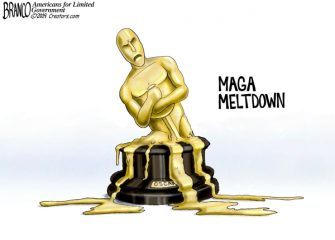 A.F. Branco Cartoon – Oscar Whiners