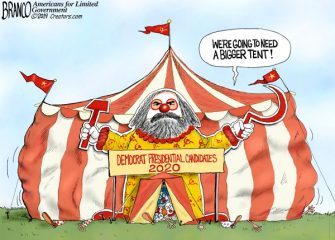 A.F. Branco Cartoon – Democratic National Circus
