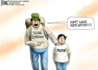 A.F. Branco Cartoon – American Express