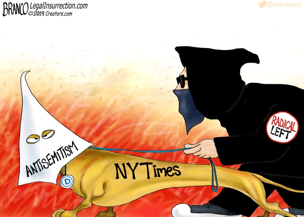 New York Times Antisemitism Cartoon