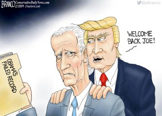 A.F. Branco Cartoon – For-Biden Love