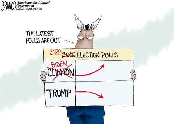 Joe Biden Poll Numbers