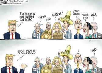 A.F. Branco Cartoon – Jokers to the Left of Me