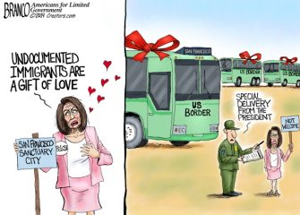 A.F. Branco Cartoon – From the Heart