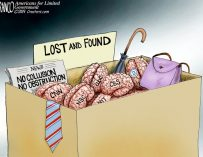 A.F. Branco Cartoon – Lost It