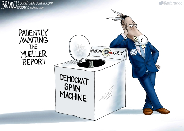 Democrats Prepare to Spin Mueller Report
