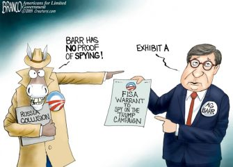 A.F. Branco Cartoon – The Spy Who Hated Me