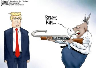 A.F. Branco Cartoon – Sharpshooter