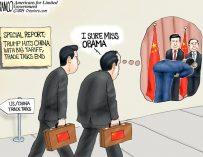 A.F. Branco Cartoon – No More Kowtow