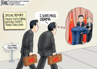 A.F. Branco Cartoon – No More Kowtow