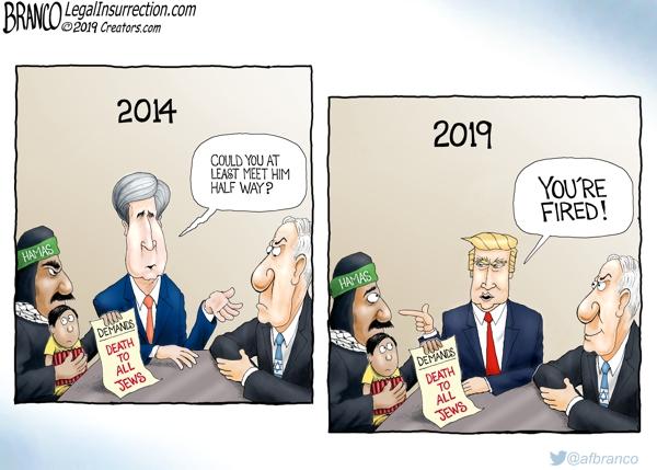 Tump Fires Hamas