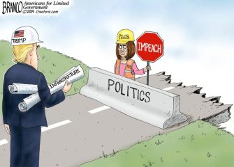 A.F. Branco Cartoon – Obstruction