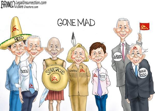 Democrat Presidential Candidates 2020