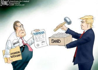 A.F. Branco Cartoon – True Grit